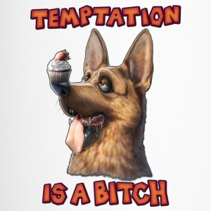Temptation is a Bitch Tazas y accesorios - Taza termo