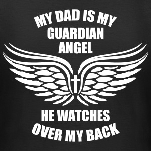BEIDSEITIG! My Dad is my Guardian Angel T-Shirt - Frauen T-Shirt