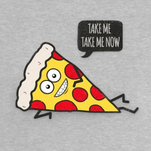 Funny Cartoon Pizza - Statement / Funny / Quote T-Shirts - Baby T-Shirt