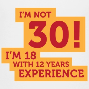 30 years? I m 18 with 12 years experience! Shirts - Teenage Premium T-Shirt