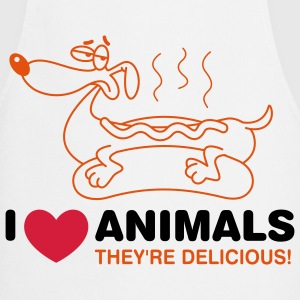 I love animals. They are absolutely delicious!  Aprons - Cooking Apron
