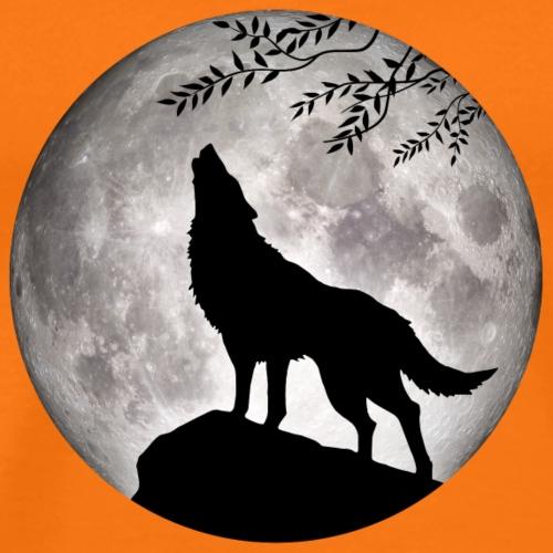 Wolf Vollmond Halloween Nacht Albtraum nightmare