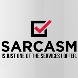 Sarcasm is just one of my services! Mugs & Drinkware - Water Bottle