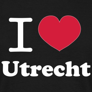 I love Utrecht Design T-shirts - Mannen T-shirt