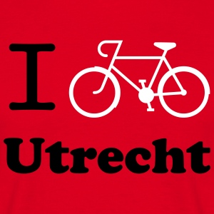 I cycle Utrecht Tour T-shirts - Mannen T-shirt