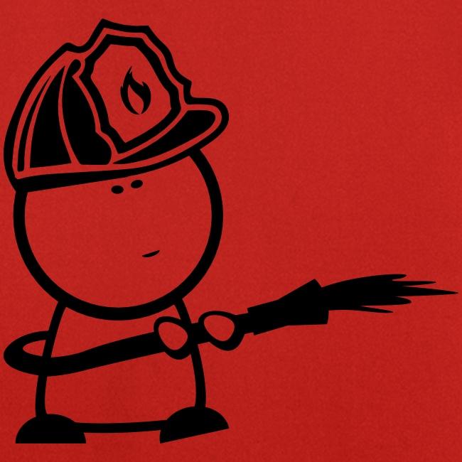 Aktions-Grillschürze-Firefighter-Nerd