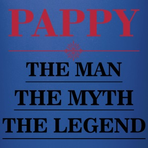 Pappy - The Man The Myth The Legend Mugs & Drinkware - Full Colour Mug