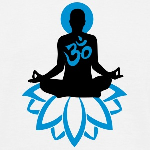 Yoga Meditation T-Shirts - Men's T-Shirt