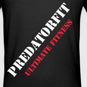 PredatorFit Back diagonal  - Männer Slim Fit T-Shirt