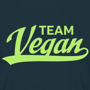 Team Vegan T-skjorter - T-skjorte for menn