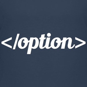option T-shirts - Premium-T-shirt tonåring