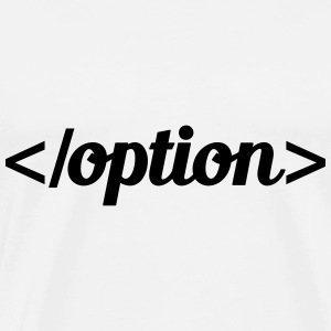 option T-shirts - Premium-T-shirt herr