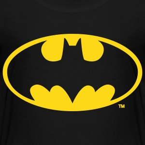 Batman Logo Gull T-skjorte - Premium T-skjorte for barn