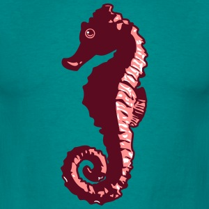 Sea Horse ontwerp T-shirts - Mannen T-shirt