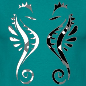 Seahorse design decor T-Shirts - Men's T-Shirt