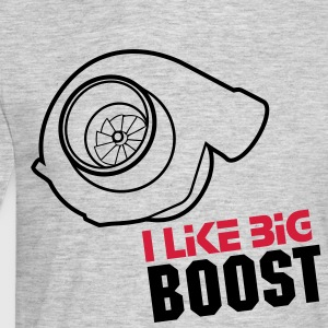 I like big boost - Männer T-Shirt