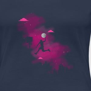 Slam dunk of the moon T-Shirts - Women's Premium T-Shirt