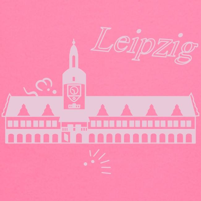 Leipzig altes Rathaus,  Baby Shirt longsleeve