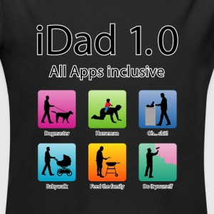 idad_06201501 Papa All apps inklusive Baby Bodys - Baby Bio-Langarm-Body