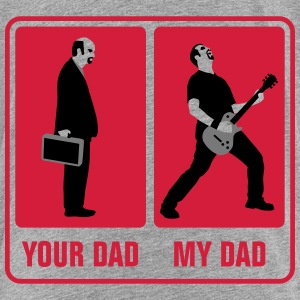 your_dad_my_dad_guitar_player01_3c T-Shirts - Teenager Premium T-Shirt