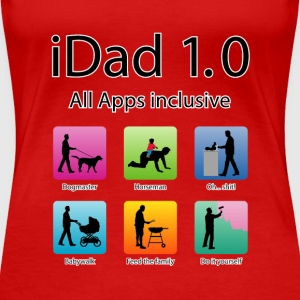 idad_06201501 Papa All apps inklusive T-Shirts - Frauen Premium T-Shirt