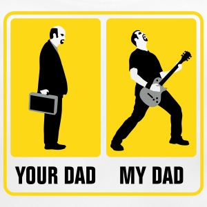 your_dad_my_dad_guitar_player02_3c Accessoires - Baby Bio-Lätzchen