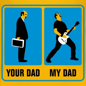 your_dad_my_dad_guitar_player02_3c T-Shirts - Teenager Premium T-Shirt