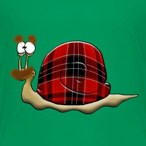 scottish snail Tee shirts - T-shirt Premium Enfant