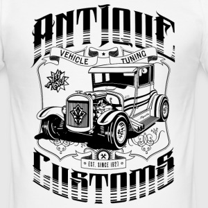 Hot Rod - Antique Customs (black) T-Shirts - Männer Slim Fit T-Shirt
