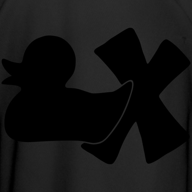 Fußballtrikot mit Ente mit X