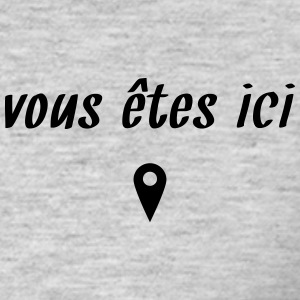 vous êtes ici Tee shirts - T-shirt Homme