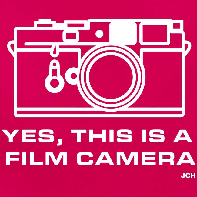 Yes, this is a film camera. Ladies