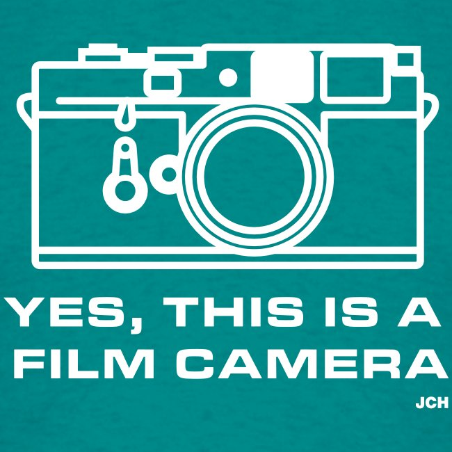 Yes, this is a film camera.