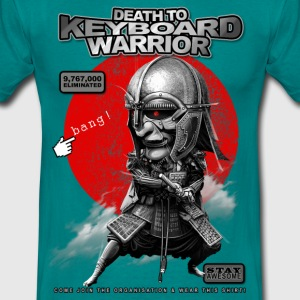 KEYBOARD WARRIOR - Men's T-Shirt