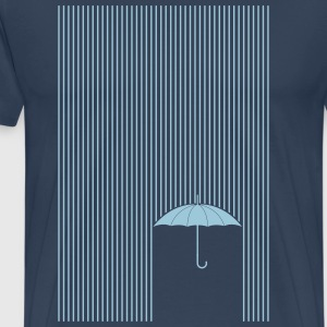 Umbrella in the rain T-Shirts - Men's Premium T-Shirt