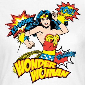 Wonder Woman Pow Dame T-Shirt - T-skjorte for kvinner