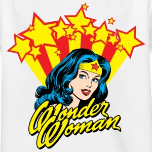 Wonder Woman Stars Teenage T-Shirt - Teenager-T-shirt