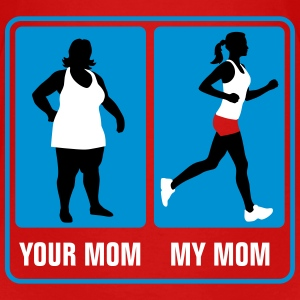 your_mom_my_mom_jogging_02_3c T-Shirts - Kinder Premium T-Shirt
