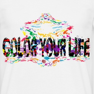 Color Your Life T-Shirts - Männer T-Shirt