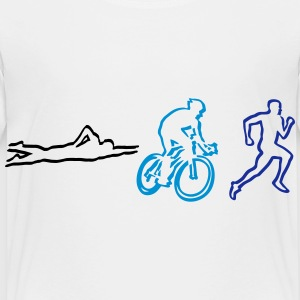 Triathlon Shirts - Kids' Premium T-Shirt
