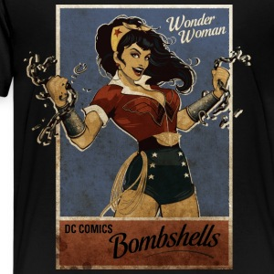Wonder Woman Bombshells Teenager T-Shirt - Teenager Premium T-Shirt