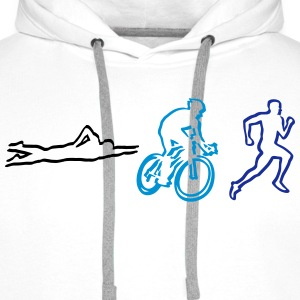 Triathlon Hoodies & Sweatshirts - Men's Premium Hoodie