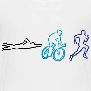 Triathlon Shirts - Teenage Premium T-Shirt