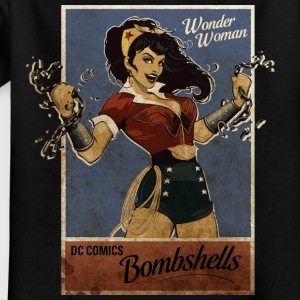 Wonder Woman Bombshells Teenage T-Shirt - Teenager-T-shirt