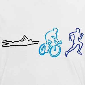 Triathlon T-Shirts - Women's Ringer T-Shirt