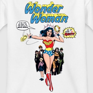 Wonder Woman Comic Style Teenage T-Shirt - Teenager-T-shirt