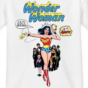 Wonder Woman Comic Style Ado Tee Shirt - T-shirt Ado