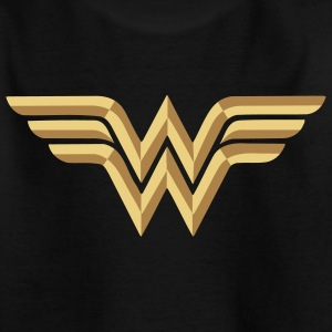 Wonder Woman Logo Vector Teenage T-Shirt - Teenager-T-shirt
