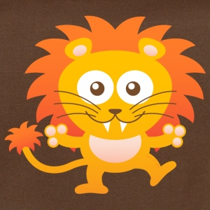 Smiling Cute Lion Bags & Backpacks - Shoulder Bag