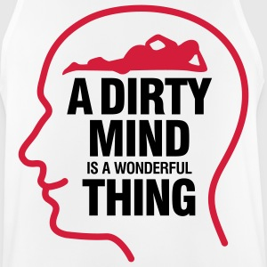 Dirty thoughts are something wonderful! Sports wear - Men's Breathable Tank Top